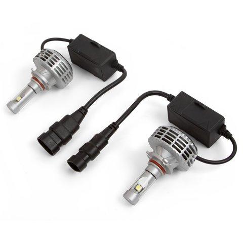 Набор светодиодного головного света UP 6HL 9005 HB3 , 3000 лм, совместим с CAN шиной