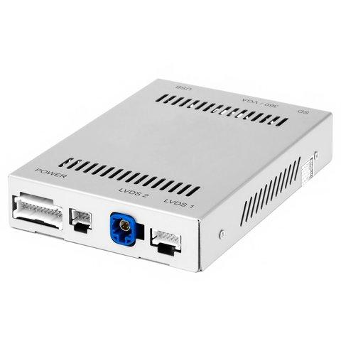 Адаптер с функцией CarPlay для подключения камер в Mercedes Benz с системой NTG4.5 4.7