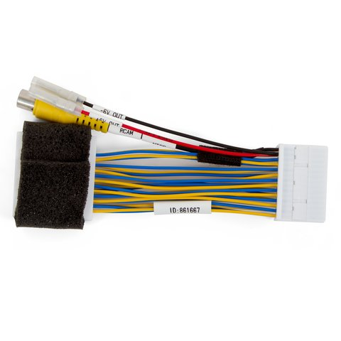 Car Camera Connection Cable for Toyota Yaris with iA Connect Monitor