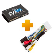 DVB T2 TV Receiver and Connection Cable Kit for Toyota Touch 2 Entune Monitors - Short description