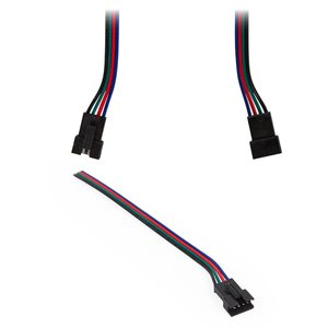 JST 4-pin Female Connecting Cable for RGB SMD 5050,  WS2813 LED Strips