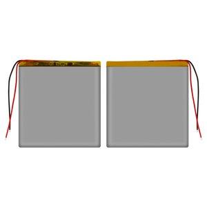 Battery, (89 mm, 82 mm, 2.6 mm, Li-ion, 3.7 V, 2000 mAh)