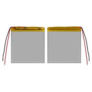 Battery, (80 mm, 65 mm, 4.3 mm, Li-ion, 3.7 V, 1800 mAh)