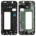 LCD Binding Frame Samsung J530F Galaxy J5 (2017), (black)