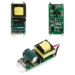 Driver (circuito) con atenuador para lámparas LED 5-7 W 85V-265V 50/60 Hz con aislamiento galvánico