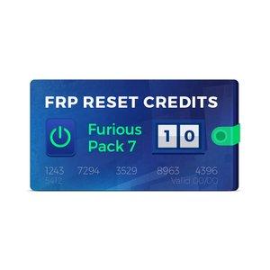 10 кредитов для сброса FRP (Furious Pack 7)
