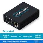 Octoplus Pro Box с набором кабелей/адаптеров 7 в 1 (с активацией Samsung + LG + eMMC/JTAG + Unlimited Sony Ericsson + Sony + Octoplus FRP Tool)