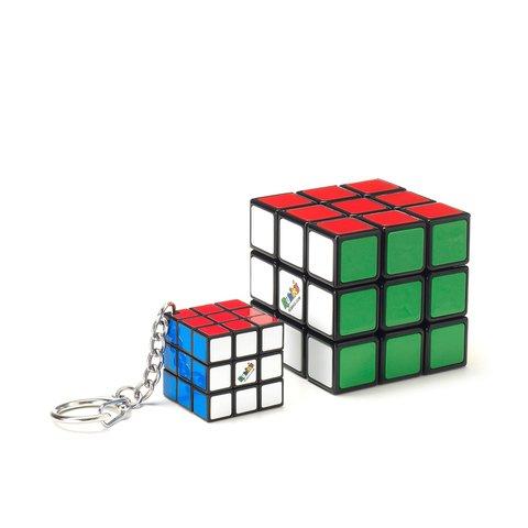 Набір головоломок Кубік Рубіка Rubik's Кубік і міні-кубик (з кільцем)