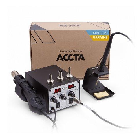 Estación de soldadura de aire caliente Accta 401A 110 V